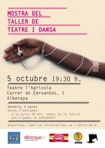 muestra del taller de Teatro y Danza